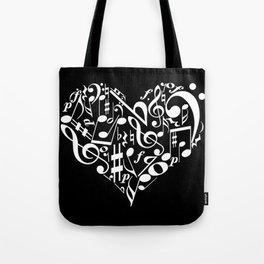 Invert Music love Tote Bag
