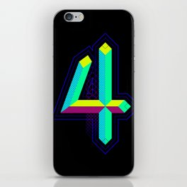 4 colors 4 the 4 iPhone Skin