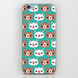 Dotty Alpacas I iPhone Skin
