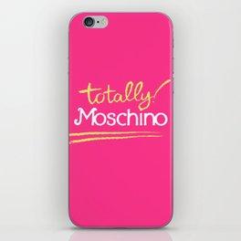 Totally Moschino iPhone Skin