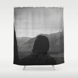 Glimpses Shower Curtain