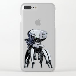 Brainbot White Edition Clear iPhone Case