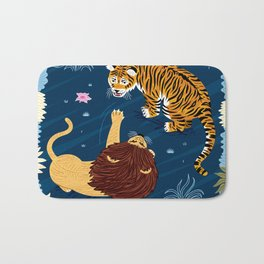 Rumble In The Jungle Bath Mat
