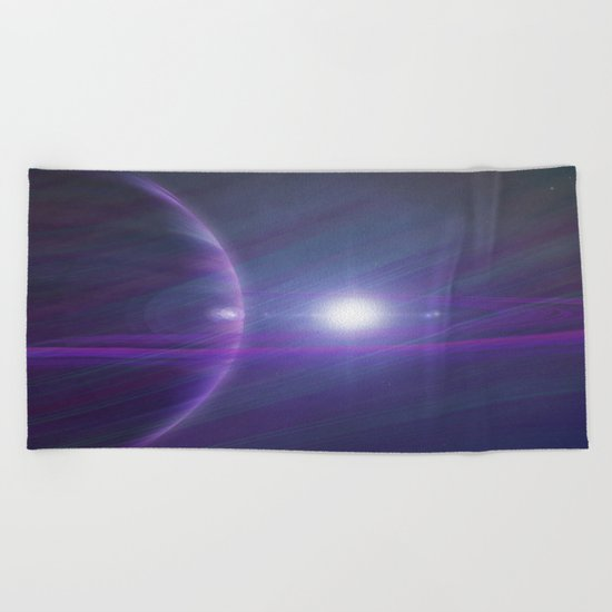 A world away Beach Towel