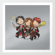 HP Gang Art Print