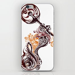 Abstract Motorcycle iPhone Skin