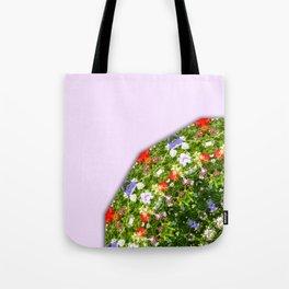 Wildflowers, Flower Mandala, Floral mandala-style Tote Bag