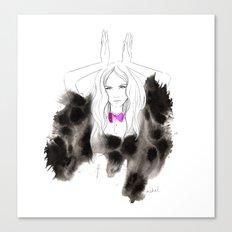 I'm a bunny Canvas Print
