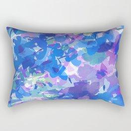 Spring Blues Rectangular Pillow