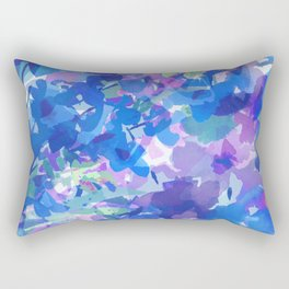 Spring Blues Rectangular Pillow