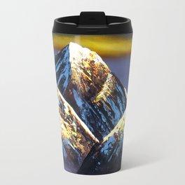Panoramic Night View Of Everest Mountain Travel Mug