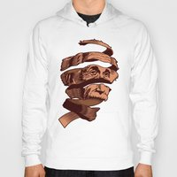 escher Hoodies featuring E=M.C. Escher by Tom Burns
