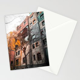 Hundertwasser 4 Stationery Cards