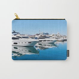 Sea Yacht Club in sunny day Carry-All Pouch