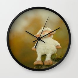 Just Sitting in the Evening Sun Wall Clock
