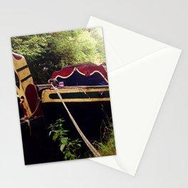 Canal Narrow Boat Stationery Cards
