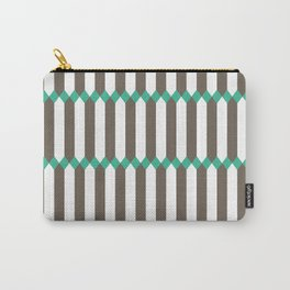 Panes - Teal Carry-All Pouch