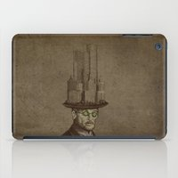 architect iPad Cases featuring The Architect by Eric Fan