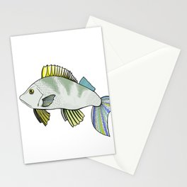 Frowns Fish Stationery Cards