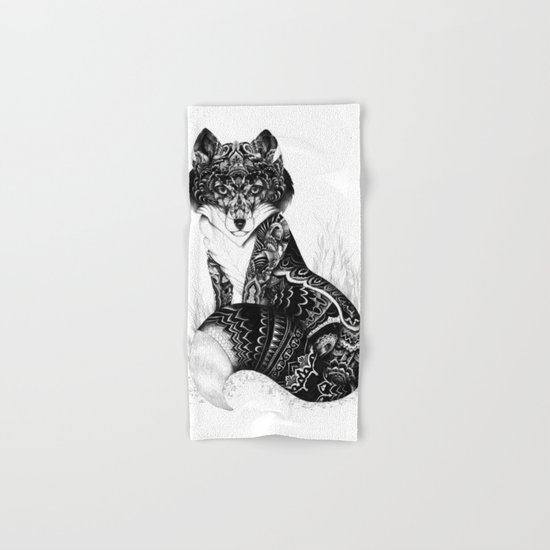 Wildlife Fox Hand & Bath Towel