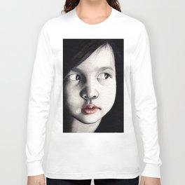 oriental girl Long Sleeve T-shirt