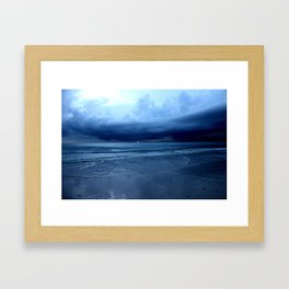 The Lonely Bolt in True Color Framed Art Print