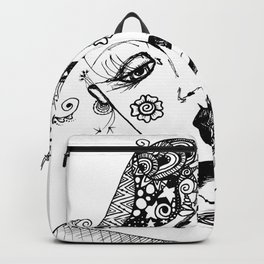 You Have No Clue What Is In My Head GRRL Backpack