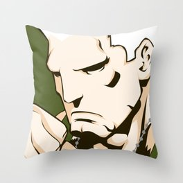 Classic Guile Throw Pillow