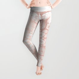 Imagination Rose Gold Leggings