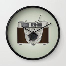 Vintage Camera II Wall Clock