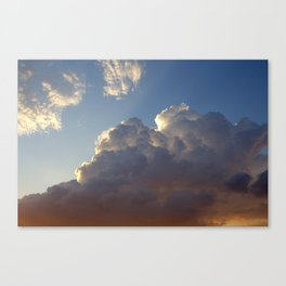 Jets Over Everything Canvas Print