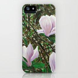 Magnolias iPhone Case