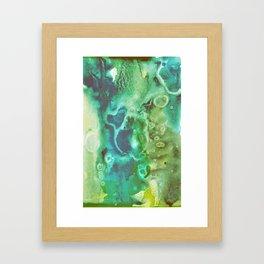 Emerald Witch Poison Framed Art Print