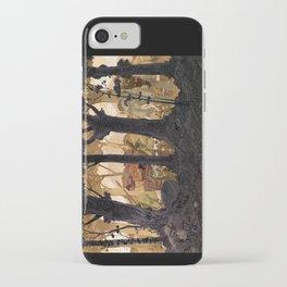 Balade en Forêt iPhone Case