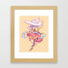 Weather Witch Framed Art Print