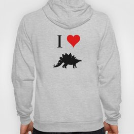 I Love Dinosaurs - Stegosaurus Hoody