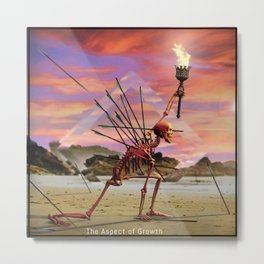 The Aspect of Growth Metal Print