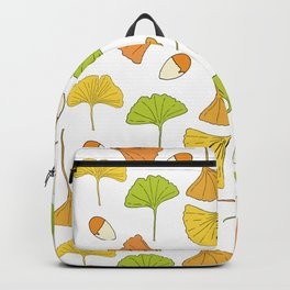Ginkgo Tree Pattern Backpack