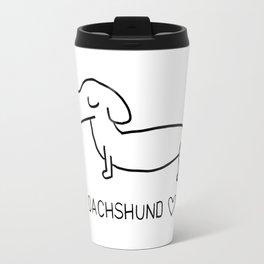 Dachshund Love Travel Mug