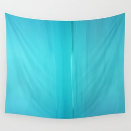 Abstract Turquoise Wall Tapestry
