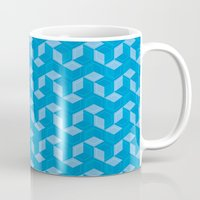 escher Mugs featuring Escher #007 by rob art | simple