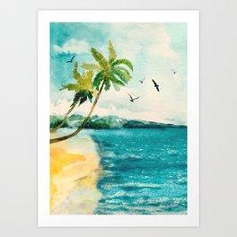 Palm Trees 1 Art Print