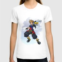 kingdom hearts T-shirts featuring Kingdom Hearts 2 - Sora by Outer Ring