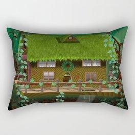Enchanted tree house Rectangular Pillow