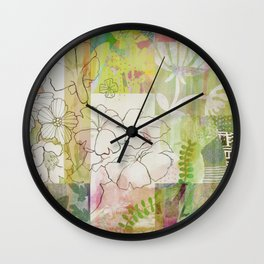 Sage Obscurity Wall Clock