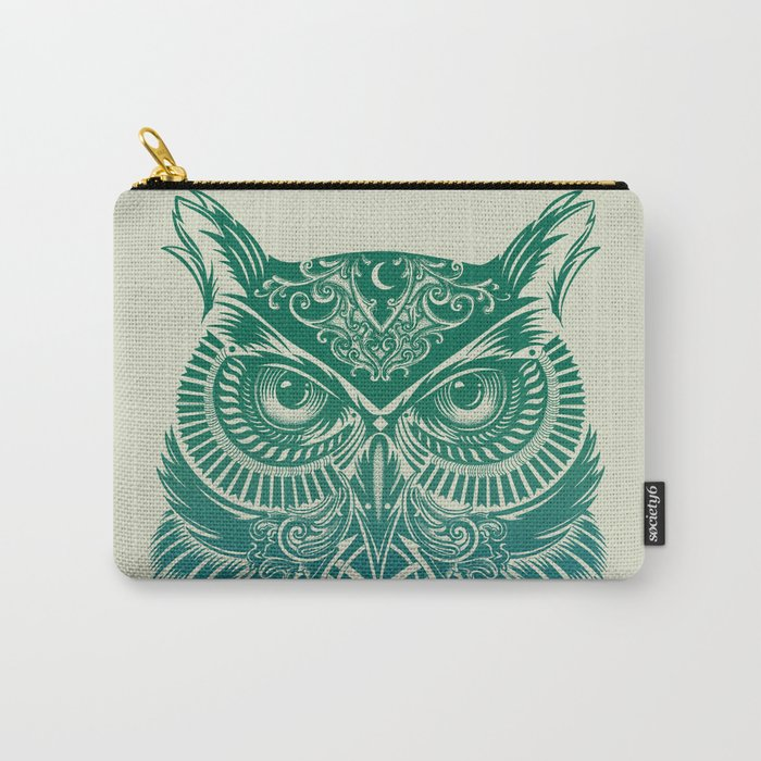 Warrior Owl Carry-All Pouch