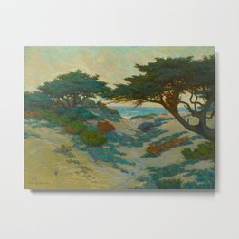 Granville Redmond Carmel Coast Oil Painting Vintage American Art Metal Print