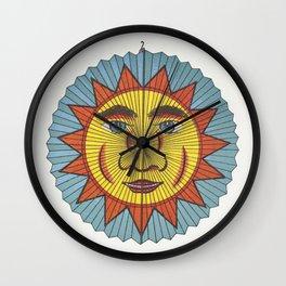 Sun with spiked aureole lantern  from Papierlaternen-Fabrik Riethmller makers catalog (Paper Lantern Wall Clock