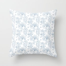 Dipper Pines Pattern Throw Pillow
