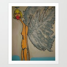 Sophia, The Angel of Trust Art Print